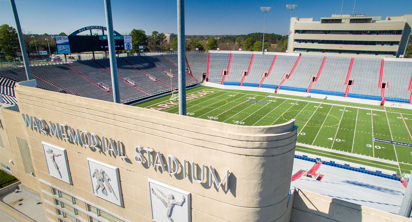 Image of War Memorial Stadium, Little Rock, Arkansas