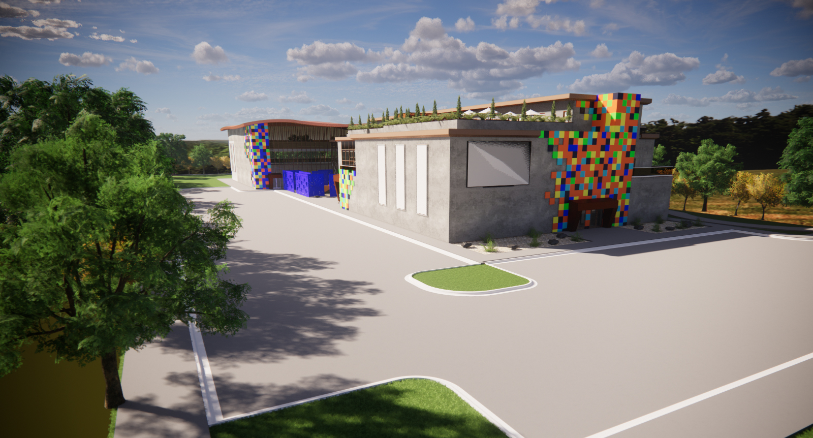 Legacy Center rendering